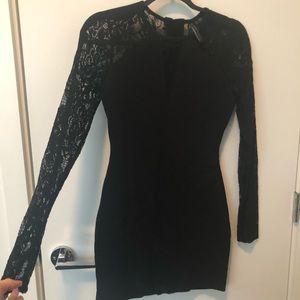 Guess black Lace mini dress EUC